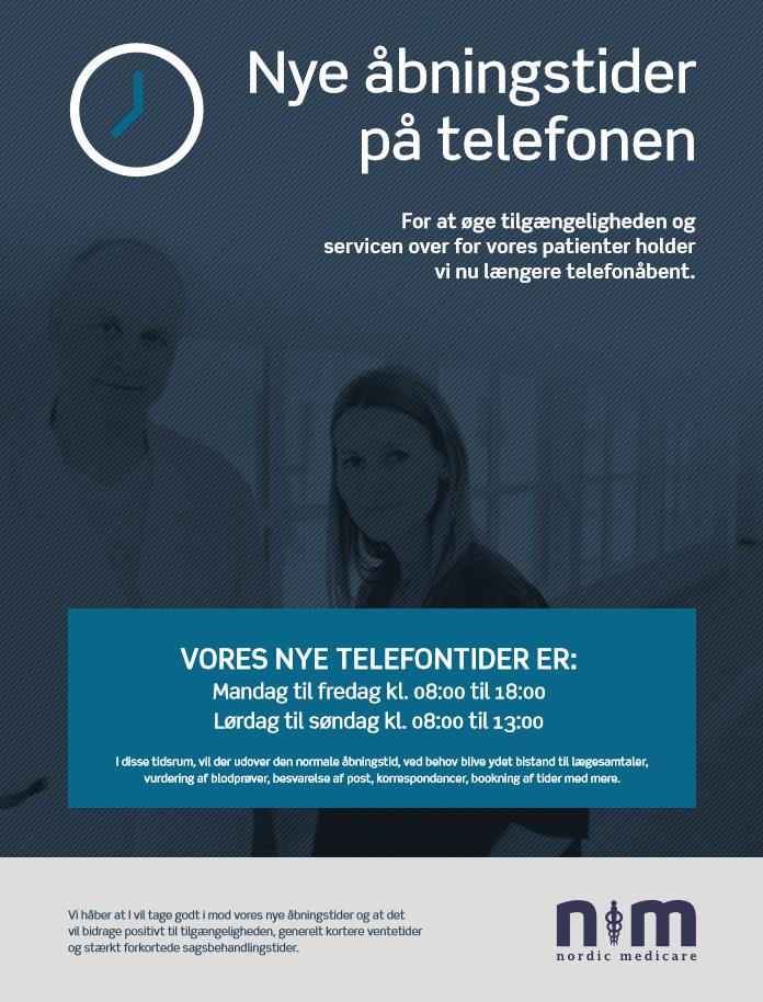 First Mover - Øget telefonisk tilgængelighed - Nordic Medicare